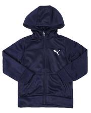 Boys - Slant Pack Tricot Zip Up Hoodie (4-7)-2537841