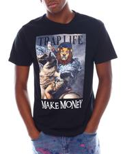 Shirts - Trap Life Napoleon Velour Patch Tee-2538643