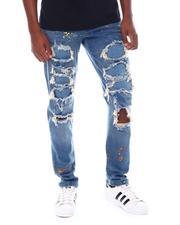 Jeans - Rip and Repair Paint Splatter Jean-2538908