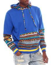 Hoodies - Aztec Colorblock Hoodie-2539210