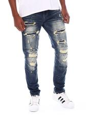 Jeans - Lazy Fit Ripped Moto Jean-2539381