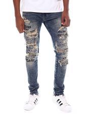 Jeans - Distressed Jean w Script detail-2539499