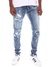 SMOKE RISE - Slim Tapered Stretch Distressed Jean-2539557