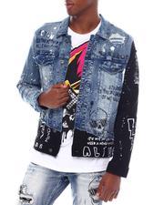 Outerwear - Anime Denim Jacket-2539596