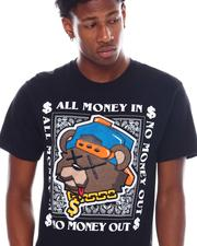 Shirts - All Money In Chenille Teddy Tee-2538654