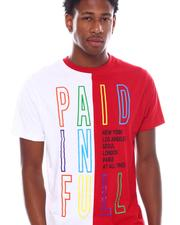 Shirts - Paid in full Color Block Tee-2538700
