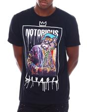 Shirts - Notorious Savage Velour Patch Tee-2538675