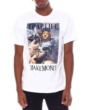 Shirts - Trap Life Napoleon Velour Patch Tee-2538680