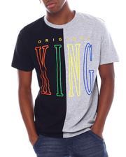 Shirts - Original King Split Glitter Tee-2538690