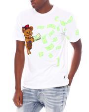 Shirts - MONEY BEAR PATCH & PRINT S/S TEE-2539051