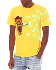 Shirts - MONEY BEAR PATCH & PRINT S/S TEE-2539057
