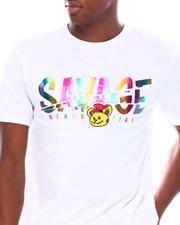 Shirts - SAVAGE HOLOGRAM PRINT S/S TEE-2539074