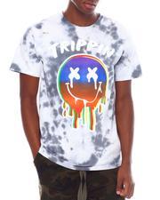 Shirts - Trippin Tie Dye Face Tee-2539111