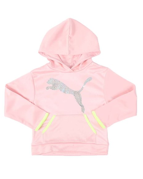 Puma - Big Cat Pack Fleece Pullover Hoodie (4-6X)