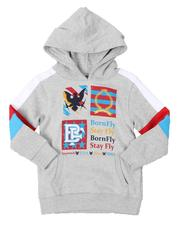 Hoodies - Fleece Embroidered Patch Pullover Hoodie (4-7)-2539370