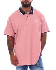 Kangol - Stripe Collar Short Sleeve Polo (B&T)-2537909