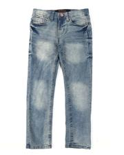 Arcade Styles - Washed 5 Pocket Stretch Jeans (8-18)-2538254
