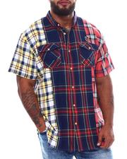 Big & Tall - Ghent Plaid Woven Shirt (B&T)-2539181