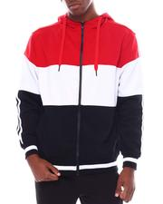 Hoodies - Color block Tech Fleece Full Zip Hoodie-2538841