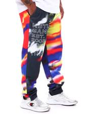 Hustle Gang - Black Spectrum Tie Dye Joggers (B&T)-2540327