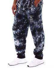 Hustle Gang - Shadow Tie Dye Bright Knit Pants (B&T)-2540320