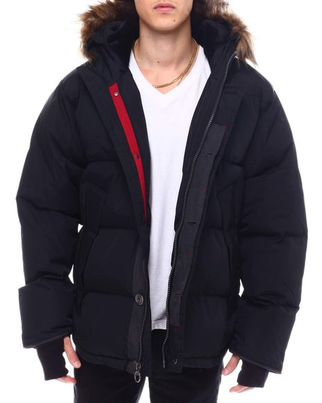 Buyers Picks - Golden Peak Puffer coat w Faux Fur Trim