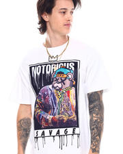 Shirts - Notorious Savage Velour Patch Tee-2538670