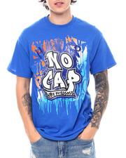 Shirts - Hustler No Cap Glitter Tee-2539018