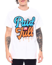 Shirts - Paid in Full Plaid Tee-2539063