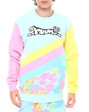 Sweatshirts & Sweaters - Pastel Camo Crewneck-2540089