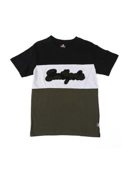 Southpole - Camo Chenille Patch Tee (8-20)