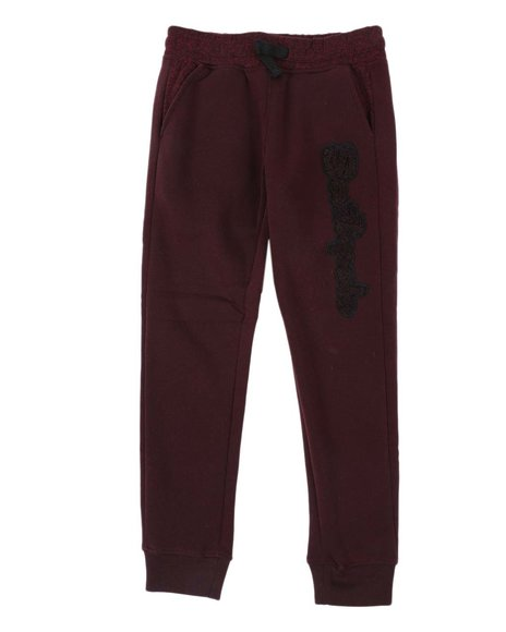 Southpole - Marled Chenille Fleece Joggers (8-20)