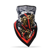 Crooks & Castles - Medusa Chain Bandana Face Mask (Unisex)-2541078