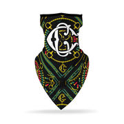 Crooks & Castles - CC Bandana Face Mask (Unisex)-2541080