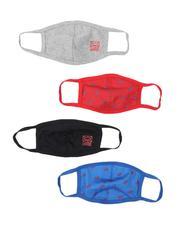 Face Coverings - 4Pk Ecko Face Masks (Unisex)-2541073