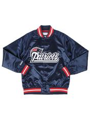 Mitchell & Ness - New England Patriots Lightweight Satin Jacket (8-20)-2540380