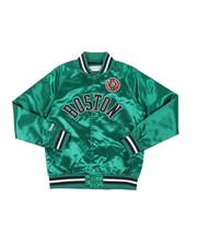 Mitchell & Ness - Boston Celtics Lightweight Satin Jacket (8-20)-2540385