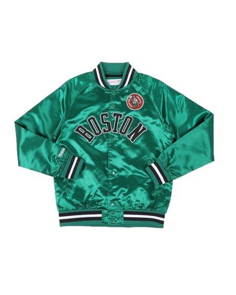 Mitchell & Ness - Boston Celtics Lightweight Satin Jacket (8-20)