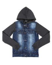 Southpole - Hooded Denim Jacket (8-20)-2541006