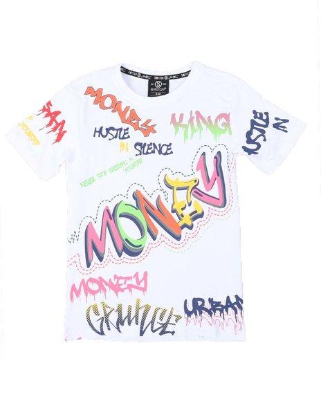 SWITCH - Money Allover Print T-Shirt (8-20)