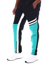 Pants - Color Block Bar Stripe Track Pant-2542353