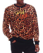 SWITCH - King Leopard Velour Sweatshirt-2542509