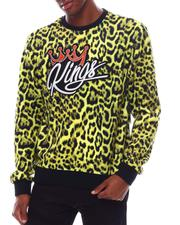 SWITCH - King Leopard Velour Sweatshirt-2542499