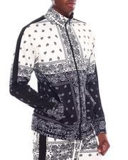 Buyers Picks - Bandana Print Track Jacket-2542937