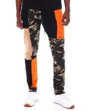 MSTKN - Color Block Camo Pants-2543483