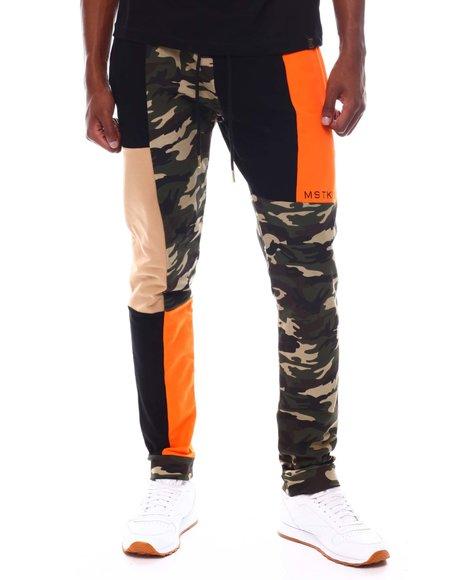 MSTKN - Color Block Camo Pants