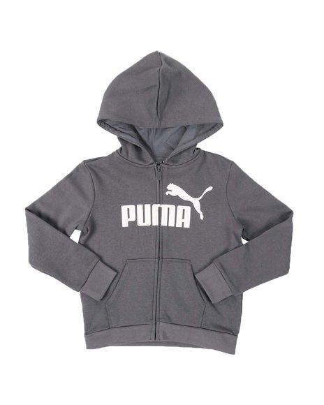 Puma - No.1 Logo Pack Fleece Zip Up Hoodie (4-6X)