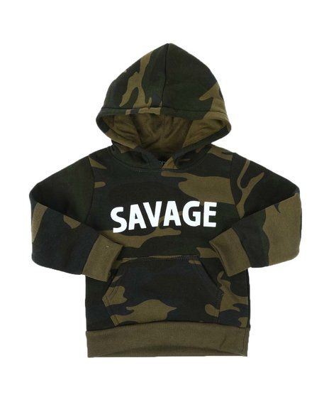 Arcade Styles - Savage Camo Pullover Hoodie (2T-4T)