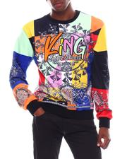 SWITCH - King Bandana Velour Sweatshirt-2542459
