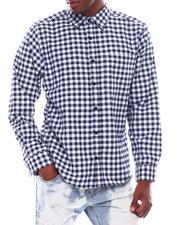 Buyers Picks - Mini Check Plaid LS Shirt-2542781